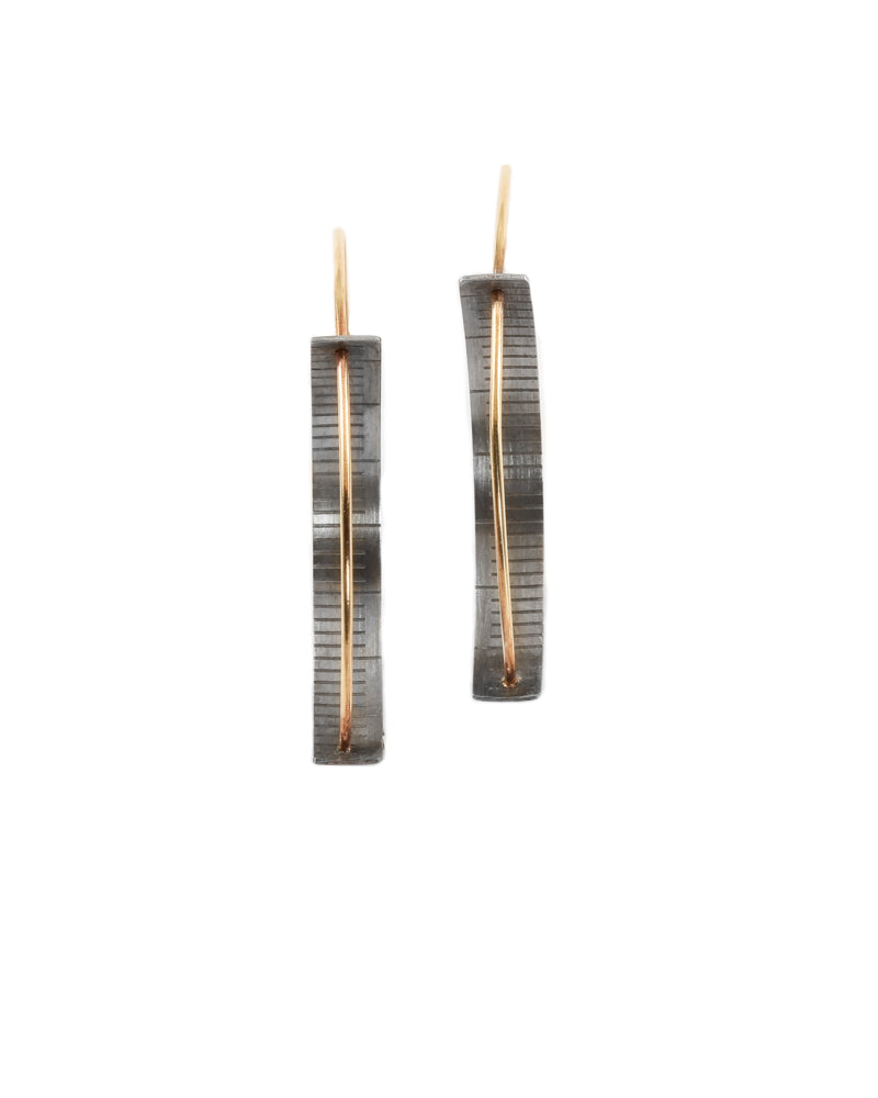 Ruler Arc Earrings