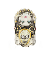 Load image into Gallery viewer, Skull Doll Ring