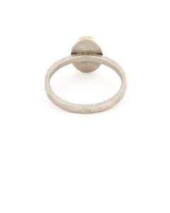 Oval Rose Cut Ring