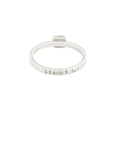 Tiny Cell Stacking Diamond Ring