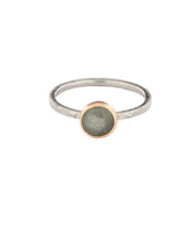 Load image into Gallery viewer, Light Blue Sapphire Ring