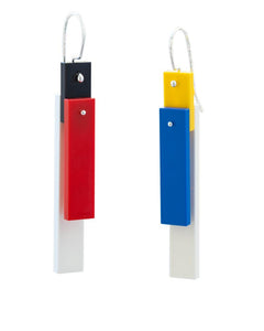 Mondrian Tile Earrings