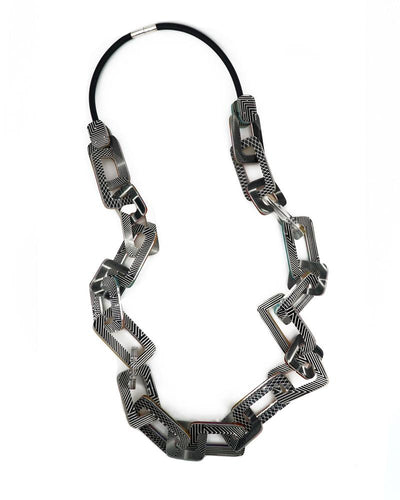Anuszkiewicz Long Chain Link Necklace