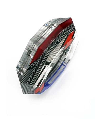 Lichtenstein Faceted Hinge Bracelet