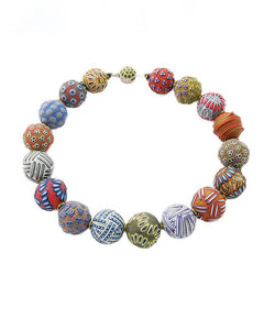 Big Bead Multicolor Necklace 142