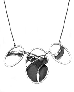 Highway Ovals Necklace