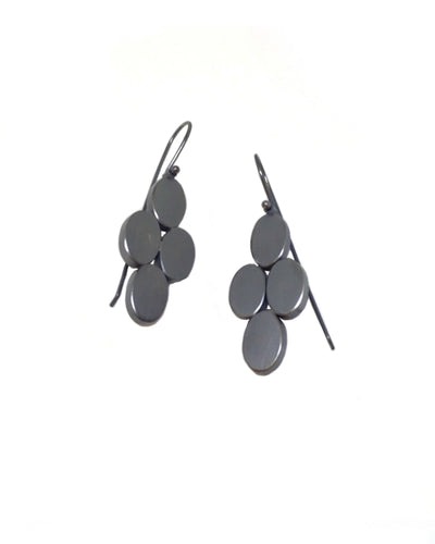 4 Oval Earrings