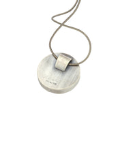 Load image into Gallery viewer, Smoke and Mirrors Pendant Sapphire
