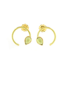 Open Ring Earrings