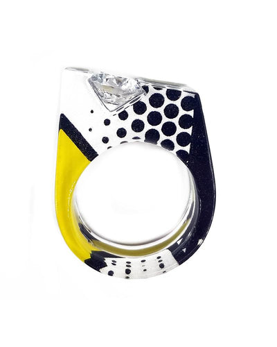Lichtenstein Channel Set Ring