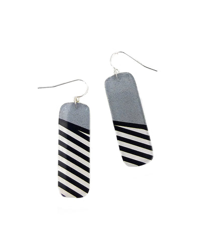 Lichtenstein Single Dangle Earrings