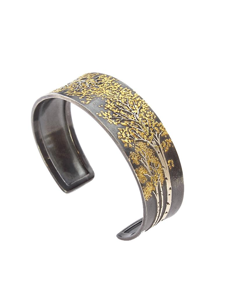 Aspen Trees Collection III Slim Cuff
