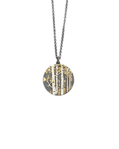 Aspen Trees Small Pendant