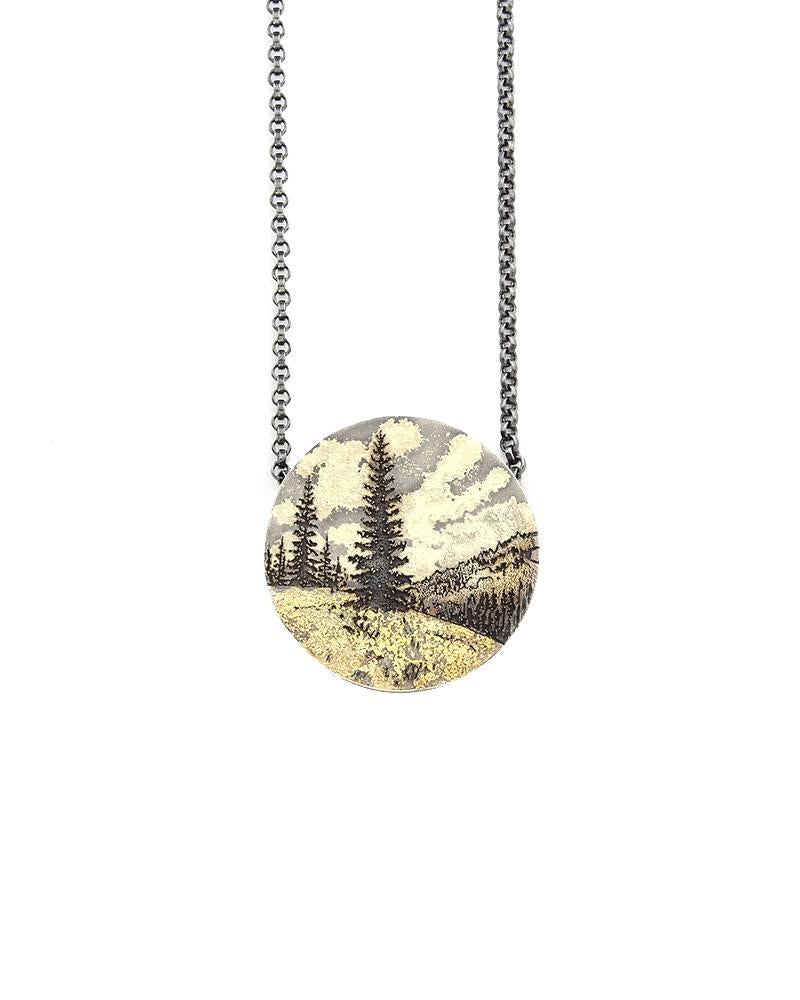 Rocky Mountains Memories Pendant