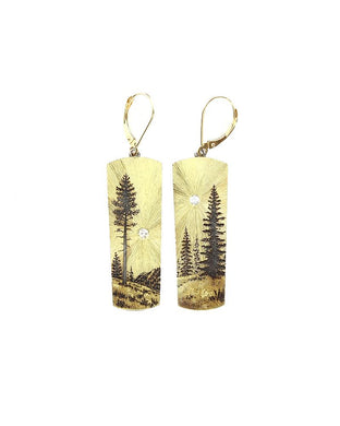 Rocky Mountains Memories Earrings
