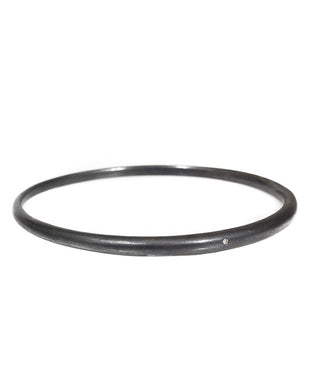 Oxidized Tapered Bangle