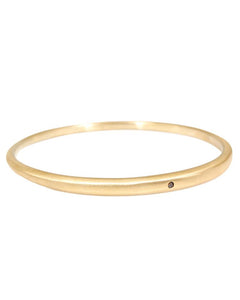 Tapered Bangle with Autumn Diamond