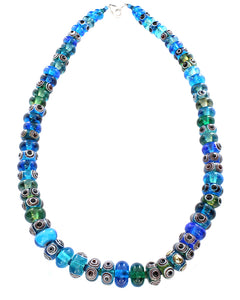 Blue Green Necklace