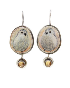 Winter Chicks Earrings