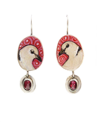 Turtle Doves Earrings