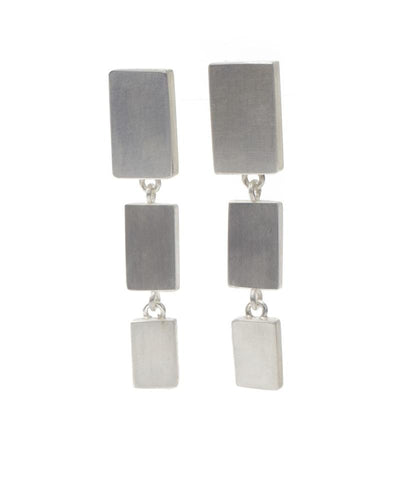 Rectangle Post Earrings
