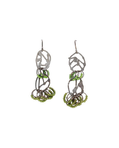 Abstract Line Earrings