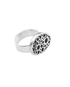 Dotted Tube Ring