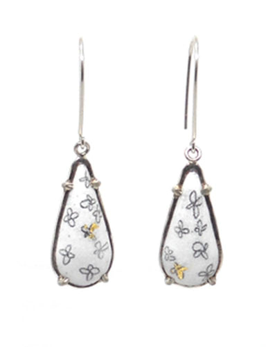 Elongated Teardrop Dangles