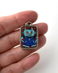 Work Casual Devil Pendant