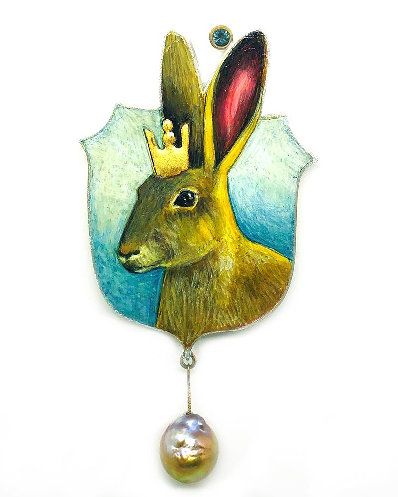 Royal Hare Brooch