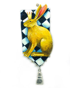 Imperial Hare Brooch
