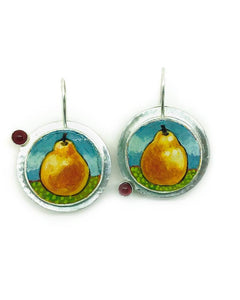 Summer Pears Earrings