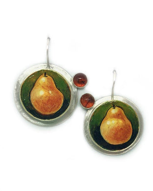 Fall Pears Earrings
