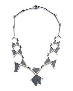 Torn Xs Necklace