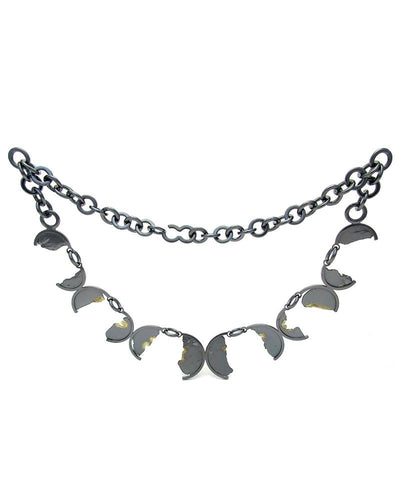 Torn In Half O Necklace