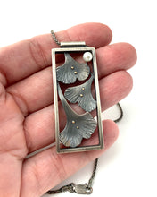 Load image into Gallery viewer, Framed Ginko Pendant