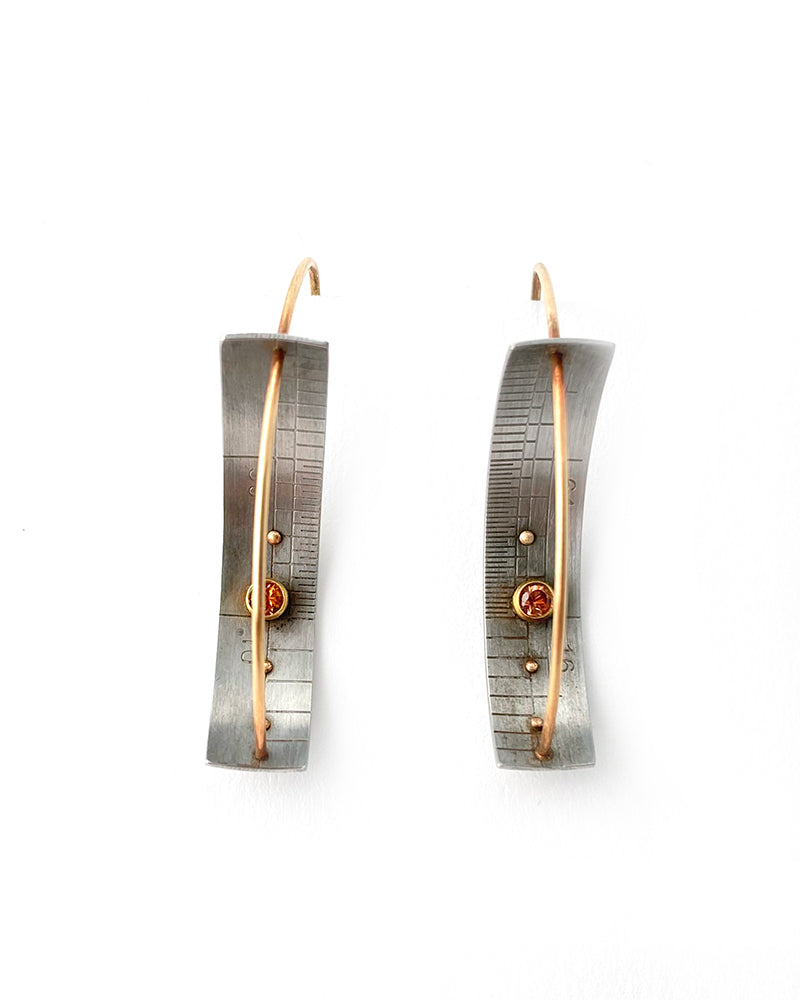 Ruler Earrings