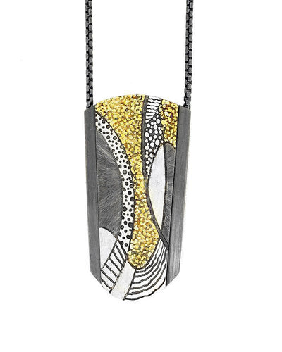 Abstract Movement Pendant