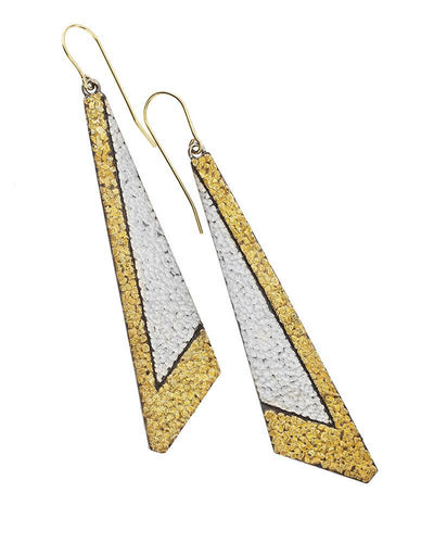 Long Abstract Earrings