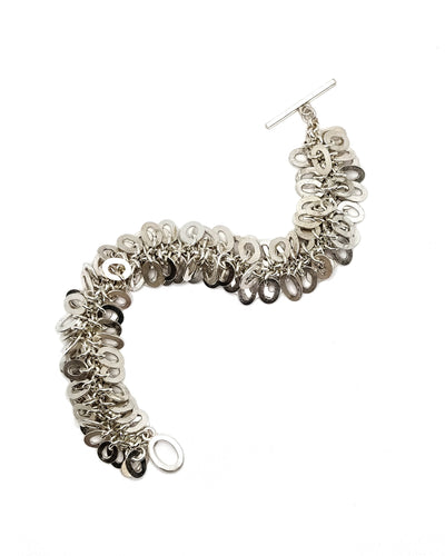 Bright Medium Oval Link Bracelet