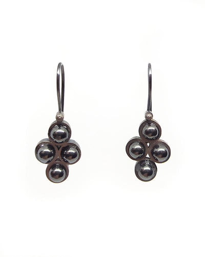 4 Hematite Earrings