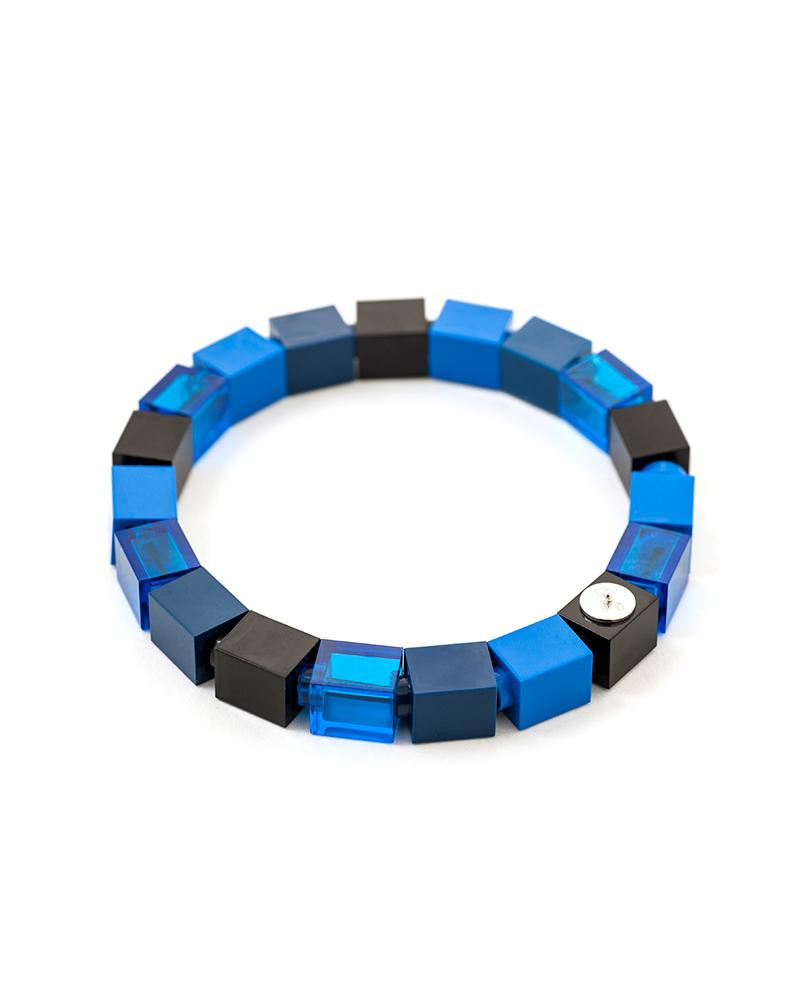 Dark Denim 1x1 Bracelet
