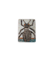 Load image into Gallery viewer, Black Beetle Brooch