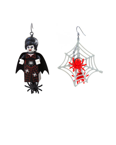 Black Vamptress Earrings
