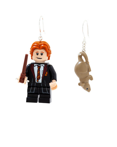 Ron & Scabbers Earrings