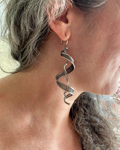 Large Helix Earrings