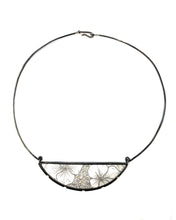 Load image into Gallery viewer, Hydrangea Crescent Petal Necklace