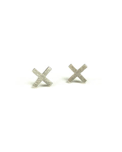 Double X Earrings