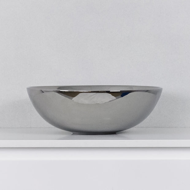 Lunar Above Counter Basin Gloss Silver