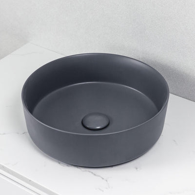 Aura Above Counter Basin Matte Grey